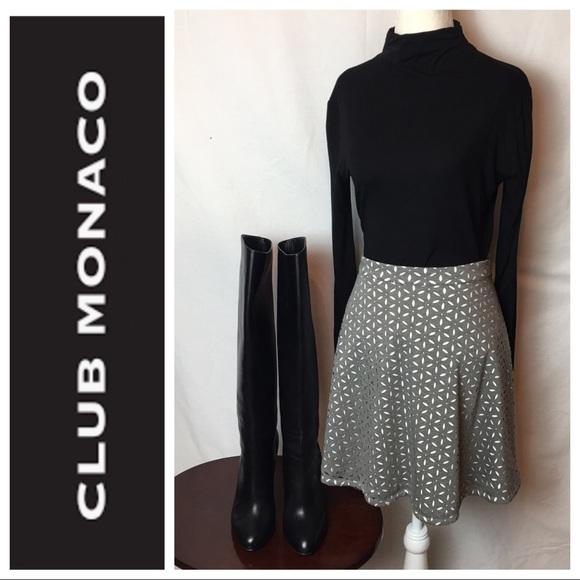 ebd5458064d Club Monaco Dresses   Skirts - Club Monaco Eyelit Mini Skirt